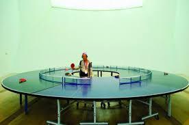 portable ping pong table round ping pong table ping pong 360 technabob