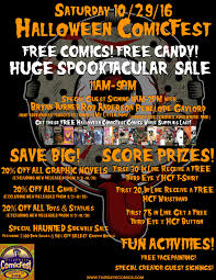 free halloween images for facebook sat 10 29 16 halloween comic fest 2016 third eye comics