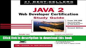 free ccna study guide books java 2 web developer certification study guide exam 310