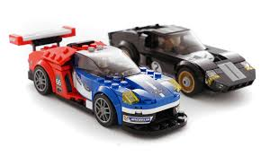 lego speed champions mclaren lego speed champions 2016 ford gt le mans and 1966 gt40 revealed