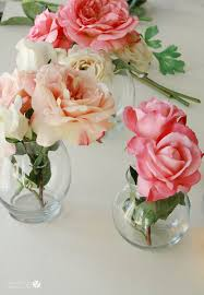 Putting Roses In A Vase Fake Flowers U0026 Foliage Fabulous Or Faux Pas Decorating
