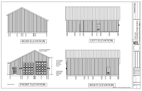 free building plans 30 x 40 pole barn plan pole barn plans