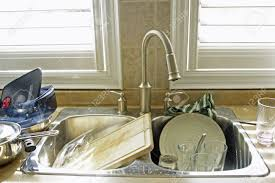 Dirty Kitchen Design Kitchen Sink And Dirty Dishes Stock Photo Picture And Royalty