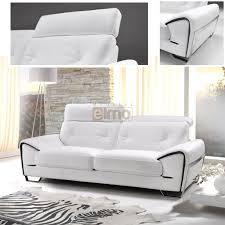 canapé cuir blanc design canapé contemporain design canapé convertible cuir pas cher