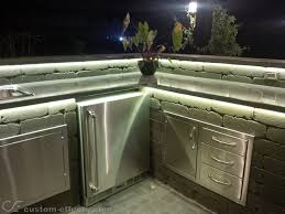 Outdoor Kitchen Lighting Custom Effects Led Solutions Surrey Bc Canada
