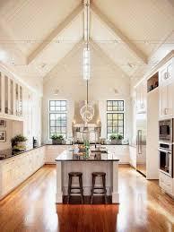 kitchen vaulted ceiling ideas