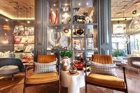 mid century design this interior design showroom boasts the best of mid century design