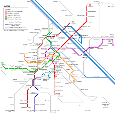 Metro Station Map by Vienna U Bahn Map Urbanrail Net For Travel Pinterest