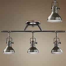 industrial halogen light fixtures kichler olde bronze halogen swivel ceiling fixture style 32076
