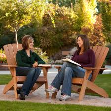 Adirondack Patio Chair Furniture Large Teak Adirondack Chairs In Brown For Patio