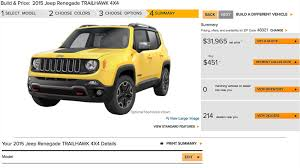 2015 jeep renegade autoblog jeep renegade configurator switches on autoblog