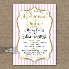 wedding rehearsal dinner invitations pink gold wedding rehearsal dinner invitations nifty printables