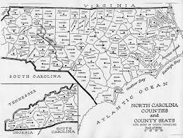 State And County Maps Of State And County Maps Of North Carolina At Map Of Nc Counties
