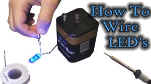 how to wire led u0027s youtube