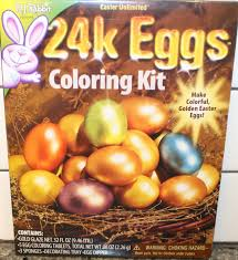 easter egg coloring kits easter unlimited 24 karat easter egg coloring kit review