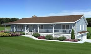 ranch style house plans with wrap around porch and basement home