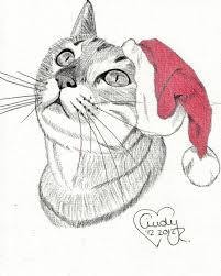 christmas cat by cindy r on deviantart