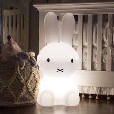 Bunny Nursery Decor Modern Nursery Décor Miffy Nursery L Bunny Light