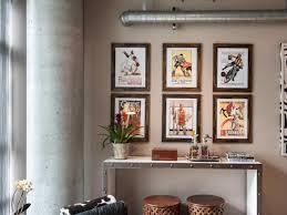 Mid Century Modern Wall Decor Interior & Lighting Design Ideas