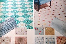 retro pattern vinyl flooring flooring designs