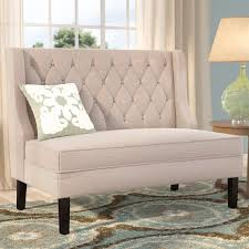 upholstered benches you u0027ll love wayfair