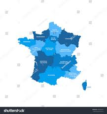 France Regions Map by France Map Silhouette Free Vector Silhouettes France Vector Map