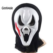 silver skull halloween mask black white skull print muzzle s m rave goth face mask men skull