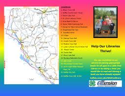 Modena Map by Little Free Libraries U2013 Buffalo County
