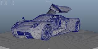 pagani drawing car render challenge 2016 pagani huayra modeling u2013 wip and 3d art