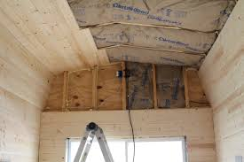 Bedroom Wall Insulation Insulation And Pine Board Tiny House Fat U0026 Crunchy
