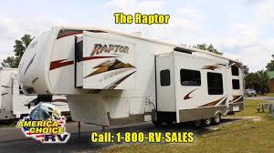 2008 keystone raptor 3612 fifth 5th wheel toy hauler rv at america