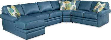 Turquoise Leather Sectional Sofa Collins Sectional Sofa Town U0026 Country Furniture