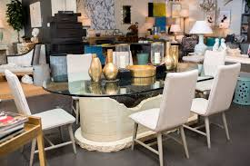 stone top dining room table vintage oval marble stone and glass top dining table mecox gardens