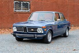 1973 bmw 2002 tii restored sunroof factory behr ac 5 speed