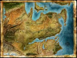World Map Wall Poster by Thedas Dragon Age Games Dragon Age And Dragons