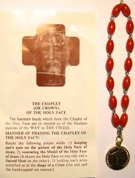 chaplet of the holy the holy