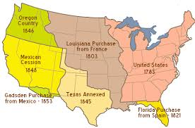 map us expansion treaty of 1783 us history maps the war of 1812