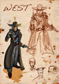 cormac mcevoy art blog cowboys urchins and voodoo sketches