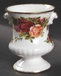 china patterns with roses urn vase in the country roses pattern by royal albert china