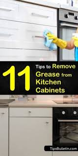 how to clean sticky grease of kitchen cabinets 11 clever ways to remove grease from kitchen cabinets