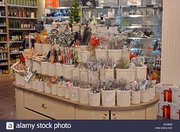 sur la table kitchen island whisk kitchen and table store interior nyc stock photo royalty