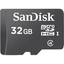 Micro Sd Sandisk 32gb Class 4 Microsd Card Walmart