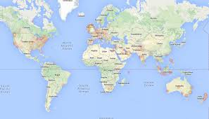 Google Maps Argentina Brazil On World Map Adriftskateshop Where Is Location Of At Egypt