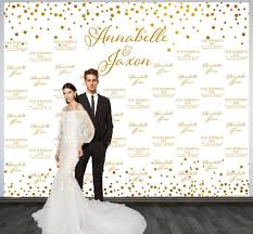 wedding backdrop personalized wedding photo backdrop printed custom wedding party backdrop