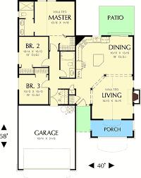 cottage home floor plans open cottage home plan 69013am architectural designs house plans
