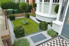 Rear Garden Ideas Gravel Front Garden Ideas Landscape Contemporary With