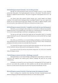Out Of Comfort Zone Activities 10 Self Improvement Activities