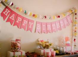 simple birthday party decorations at home simple birthday decor ideas home design advisor 30th bday