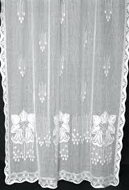Cheap Lace Curtains Sale Lace Curtains Wide Meadow Curtain Gathered Jr Burrows Company