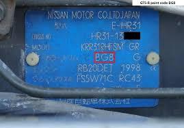 how to identify a 1987 nissan skyline r31 gts r classicregister